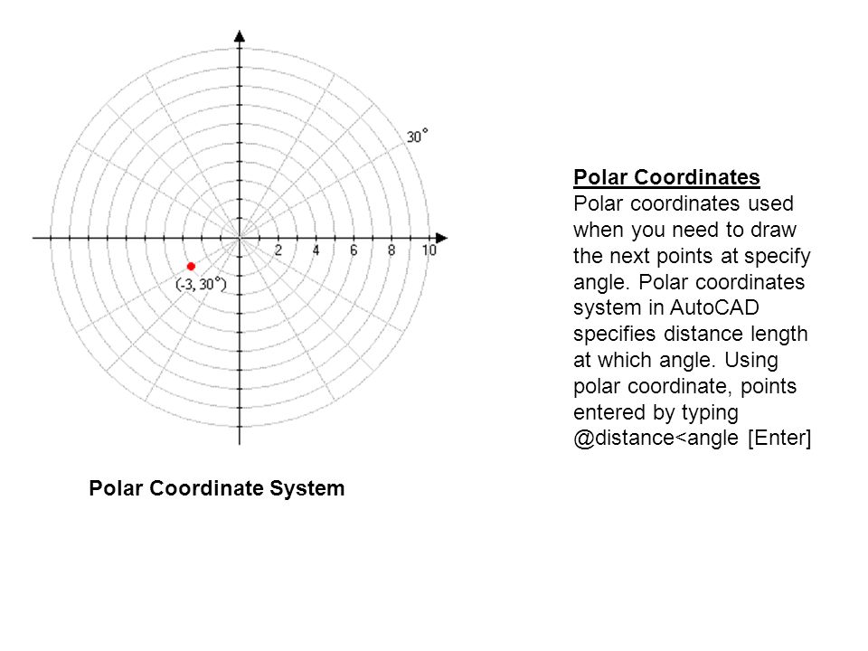 Drawing Lines In Autocad Using Coordinates : Shows the beginning and end of measurement ppt